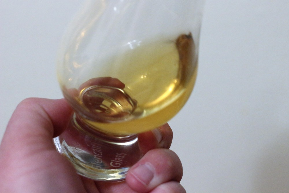 Whisky-aeration